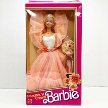 Vintage Mattel 1984 Barbie Peaches 'n Cream Doll with Change Around Stole #7926  - $337.49