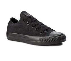 Converse Chuck Taylor All Star A/S Ox Black Monochrome M5039 Womens Sneakers - $49.95