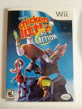 Chicken Little: Ace in Action (Nintendo Wii, 2006) DISNEY - COMPLETE - M... - $5.01