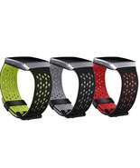 Breathable Silicone Strap Replacement For Fitbit Ionic Smartwatch Double... - $11.98