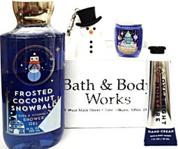 Bath & Body Works Frosted Coconut Snowball Shower, Hand Cream, Pocketbac... - $23.98