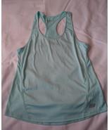 Women's Skechers Sport sleeveless ,mint green athletic tank top size large - $4.00