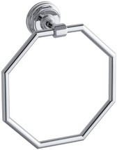 KOHLER K-13112-CP Pinstripe Towel Ring, Polished Chrome - $239.67