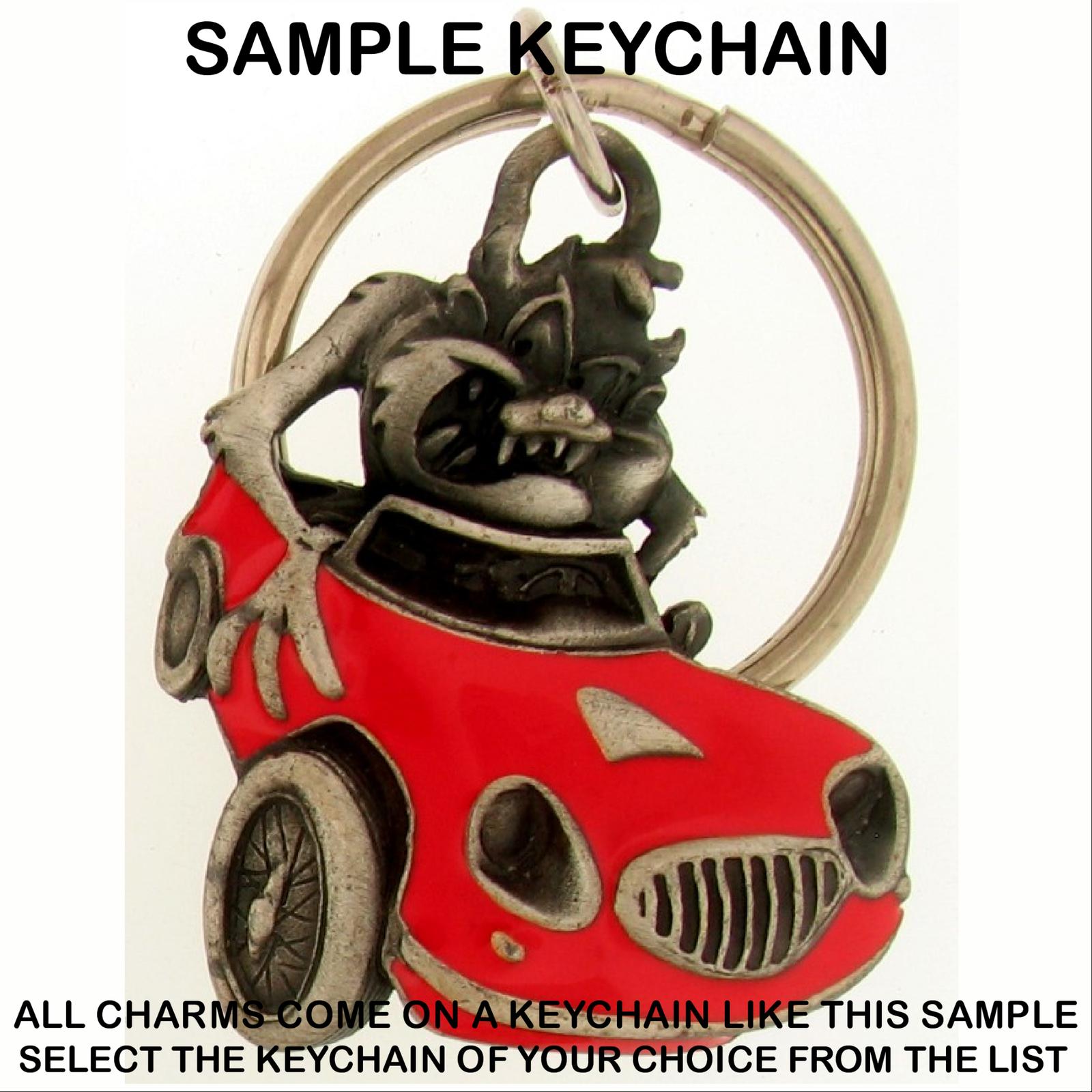 Keychain Taz TASMANIAN Devil LOONEY TUNES Warner Brothers Character Choice 0010w