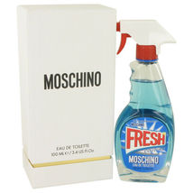 Moschino Fresh Couture by Moschino 3.4 oz EDT Spray for Women New in Box - $49.93