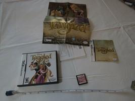 Disney Tangled Nintendo DS Funda Insertar Poster Juego Raro Everyone Esrb - $16.02