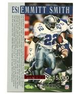 1994 Pro Line LIve Emmitt Smith SUPER BOWL MVP 418/15,000 Cowboys - $14.84
