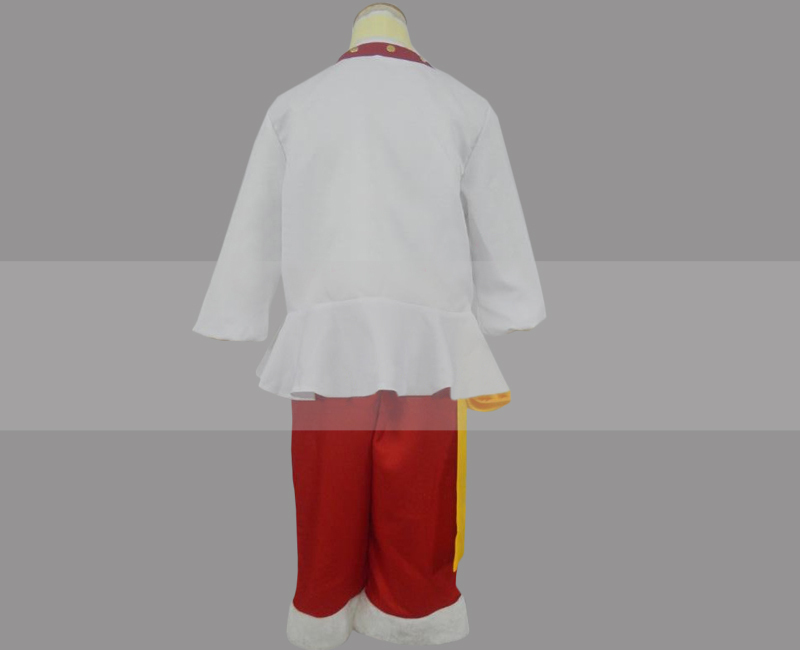 One Piece Whole Cake Island Arc Luffy Cosplay Costume for Sale