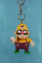 Bandai Super Mario Bros Party 4 Mini Charm Zipper Pull Figure Wario - $19.99