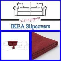 IKEA LIDHULT Slipcover Cover for Corner Section Lejde red-brown 504.055.88 - $108.88