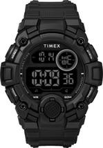 Timex Men's TW5M27400 A-Game DGTL 50mm Black Resin Strap Watch - $84.23