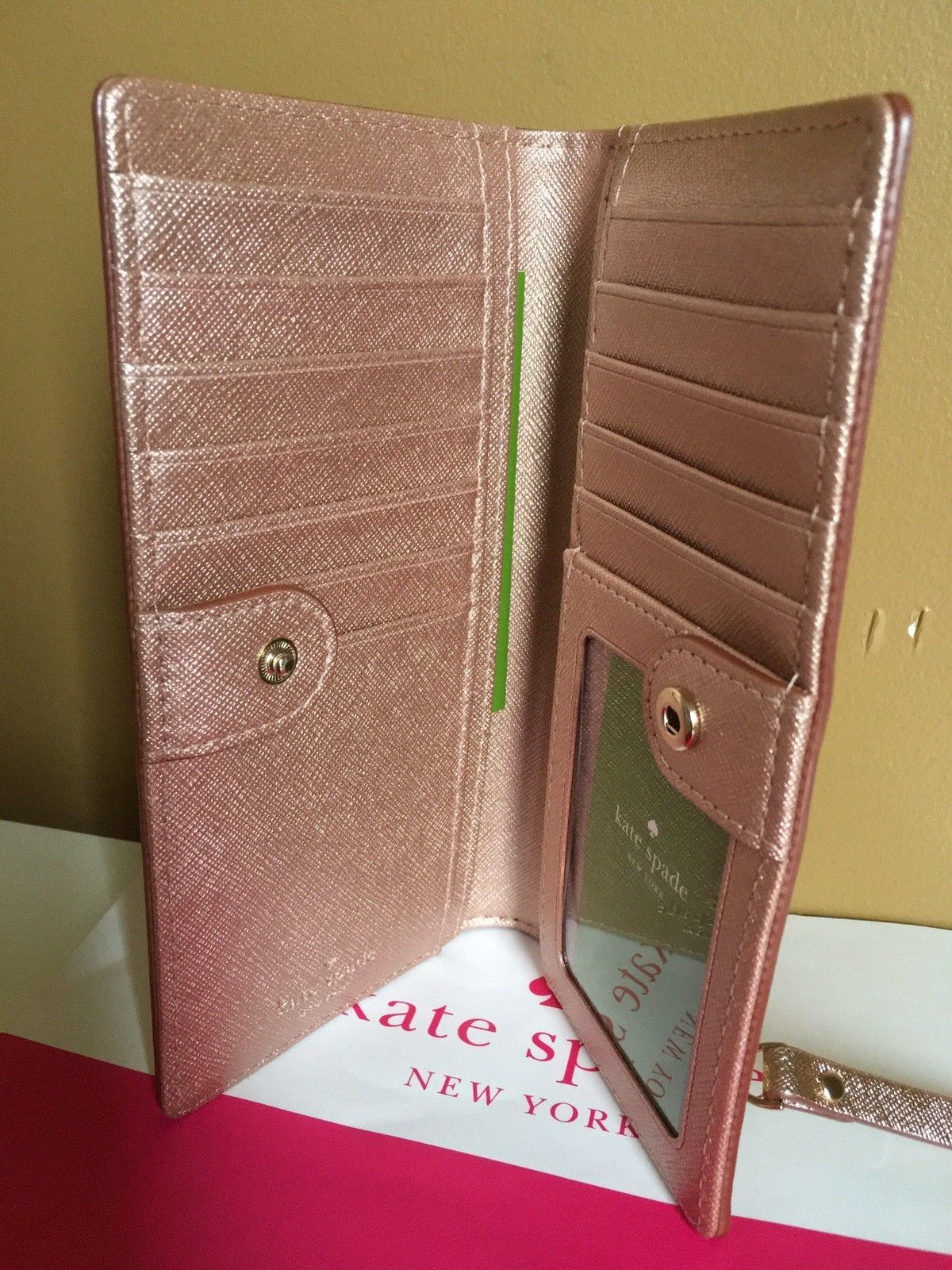 1ac997720d1b Kate Spade %Authentic Rose Gold Laurel Way and 50 similar items