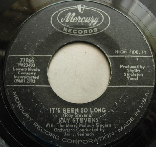 Ray Stevens - Ahab the Arab / It's Been So Long - Mercury Records 71966
