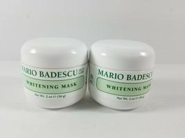 x2 Mario Badescu Skin Care Whitening Mask 2 oz(56 g) New Sealed All Skin... - $34.99
