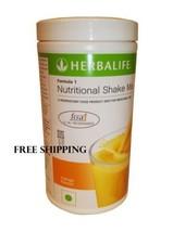 Herbalife Formula 1 Nutritional Shake Mix Indian Mango Flavor Weight Loss - $38.81
