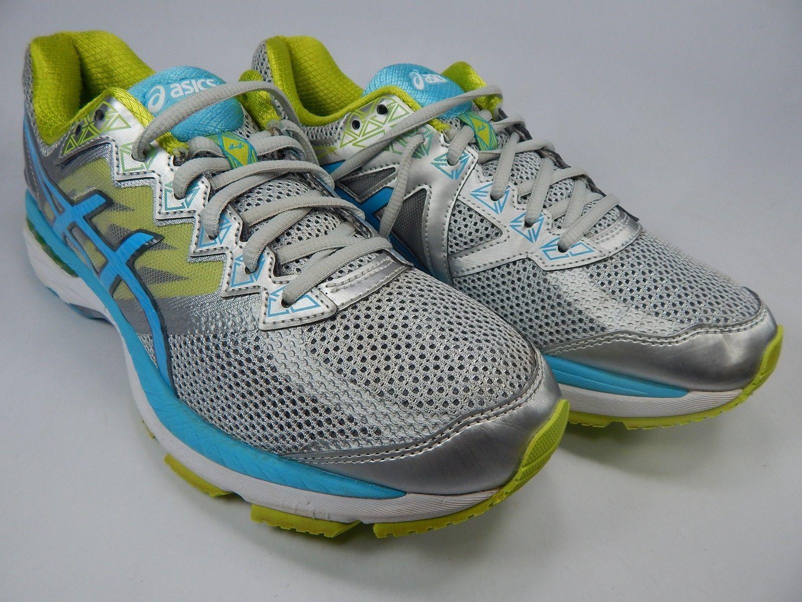 Asics GT 2000 v 4 Size US 10.5 M (B) EU 42.5 Women's Running Shoes Silver T656N