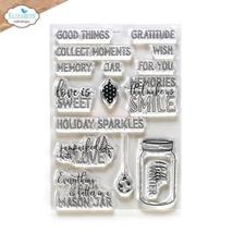 Mason Jar / Snow Globe Special Kit.  Elizabeth Craft Designs . NEW! image 3