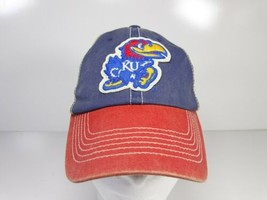 Vintage KU Kansas Jayhawks Snap Back Baseball Hat - $22.00