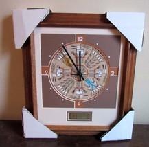 Wilton Lee Navajo sand painting Santa Fe Natural Tobacco clock. Kochina ... - $69.99