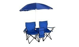 picnic camping folding chair umbrella Table Cooler outdoor patio beach p... - €48,46 EUR
