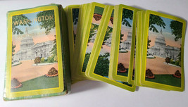 Washington D.C. Deck of Bridge Playing Cards   (#017)