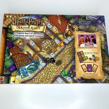 2001 Harry Potter Diagon Alley Board Game Scheming Spell-Casting Magical... - $28.84