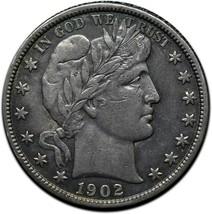 1902S Silver Barber Half Dollar Coin Lot A 349