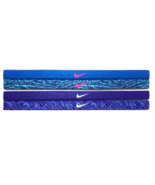 NEW Nike Girl`s Assorted All Sports Headbands 4 Pack Multi-Color #10 - $20.00