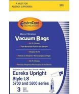 EnviroCare Eureka 3 Pack Vacuum Cleaner Microfiltration Bags Generic Sty... - $7.10