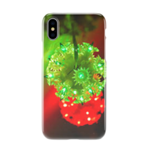 Green And Red Light Christmas Unique Color Design iPhone Galaxy Phone Case - $11.99