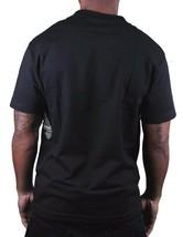 Dissizit Mens Black Liberty or Death Patrick Henry LA Slick T-Shirt USA made NWT image 2