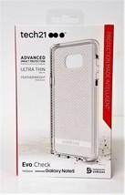 Tech 21 Samsung Nota Galaxy Nota 5 Evo Quadri Custodia Trasparente/Bianc... - $5.08