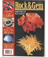 Rock and Gem March 1999 (Mexico Revisited) Magazine, Periodical - $4.99