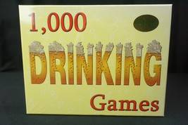 Games by James 1,000 Drinking Games Outrageously Fun Adult Game 2004 NEW... - $25.69