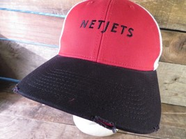 NETJETS Private Business Jets New Era Fitted Size S/M Adult Cap Hat - $12.86