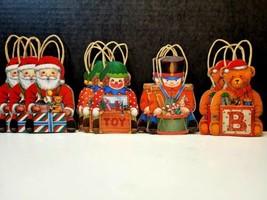 Vintage Christmas Candy Cardboard Cutout Bag/Ornament Rare - $24.99