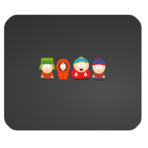 Mouse Pad South Park New Cartoon Animation Movie For Funny Cute Characters Game - $9.00