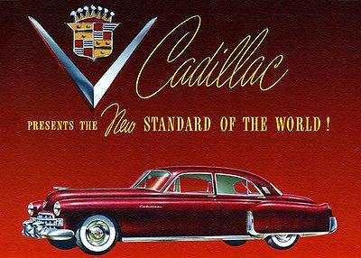 Primary image for 1948 Cadillac Fleetwood 60 Special - Promotional Advertising Poster