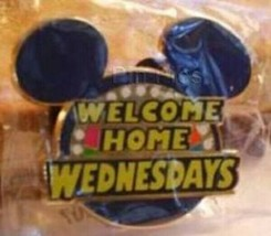 Disney Vacation Club Perks DVC Welcome Home Wednesdays Trivia Question pin - $9.15