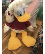 New Christmas Whip Stitch Donald Duck Santa Hat new with tag - $15.99