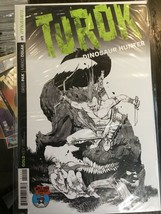 Turok Dinosaur Hunter #1 Dynamite 2014 Mile High Comics Variant B/W - $9.79