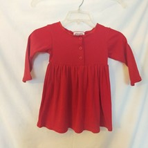 Swat Girls Sz. 3 Long Sleeve Red Dress - $11.12