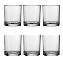 Classic 12-ounce Premium Quality Plastic Tumblers | set of 6 Clear - $18.49