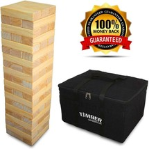 Giant Timber - Jumbo Size Wood Game - Ideal For Outdoors - Perfect For A... - $107.88