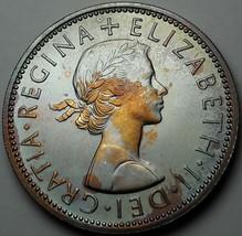 1970 UNITED KINGDOM 2 SHILLING PROOF NEON COLOR BU VIVID LUSTER GEM (MR) - $197.99