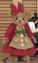 "Bearington Bears ""Ginger Cookiebaker""  14"" Plush Bear- #173197- NWT- 2013 - $49.99"
