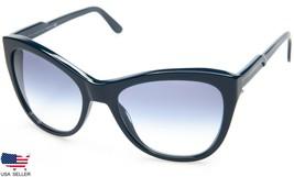 New Stella Mc Cartney Sm 4031 2052/19 Navy /BLUE Lens Sunglasses 56-19-140 Italy - $73.76