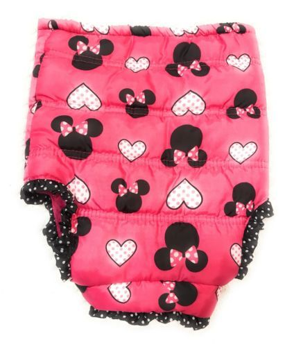 Disney Children's Coat Jacket Baby 12 months Pink Color Minnie Mouse Zipper