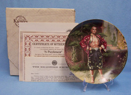 KNOWLES CHINA PLATE THE KING AND I SERIES THE PUZZLEMENT COLLECTORS 1985 - $10.84