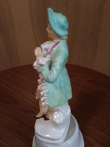Vintage Made in Occupied Wales Japan Porcelain Figurine Colonial/Victorian Man image 5